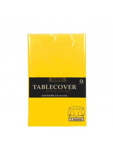 84'' ROUND TABLECOVER -...