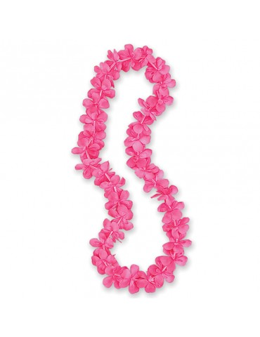 40'' HOT PINK FLOWER LEI