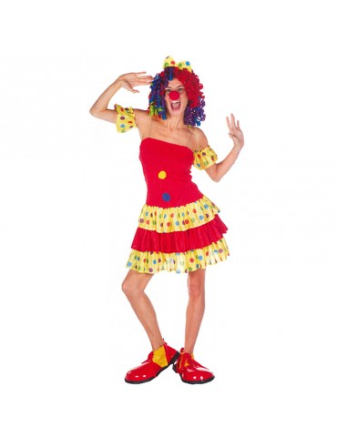"COSTUME ""LADY"" CLOWN"