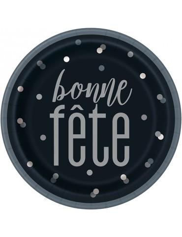 """ASSIETTE 9"""" BONNE FETE (8)"""