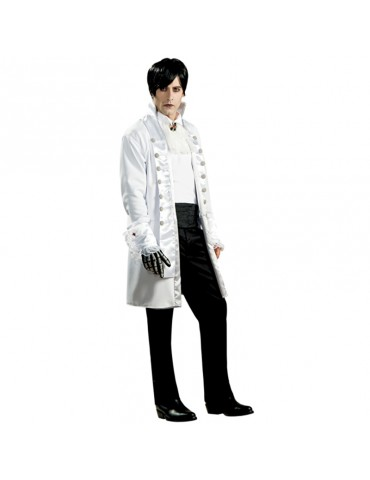 WHITE GOTHIC GROOM COSTUME