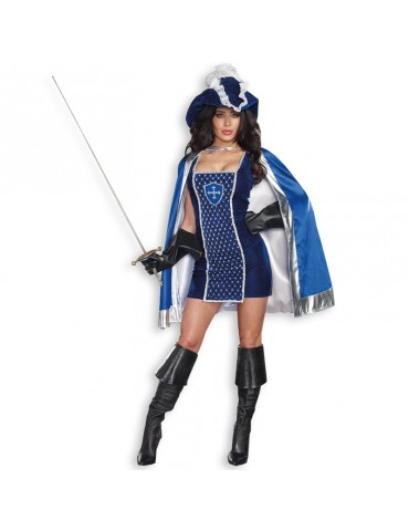 MIGHTY MUSKETEER SEXY COSTUME