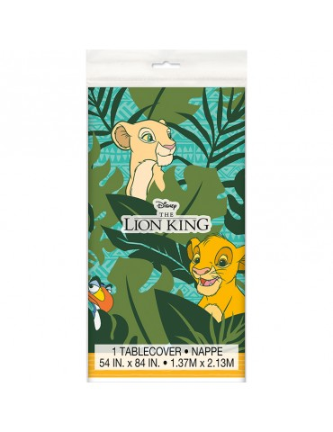 LION KING PLASTIC TABLECOVER