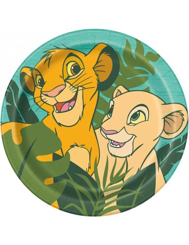 "LION KING 9"" PLATE (8)"
