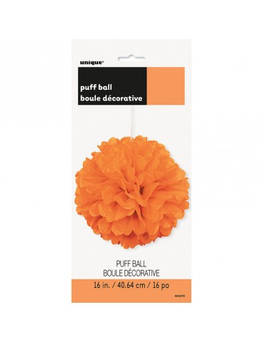 "BOULE BOUFFANTE 16"" - ORANGE"