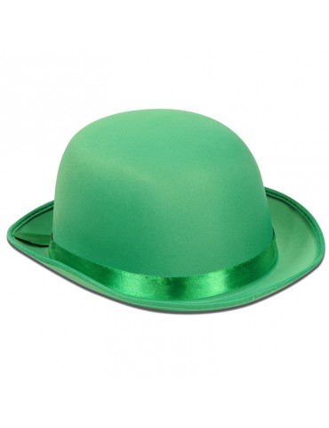 SATIN SLEEK DERBY GREEN