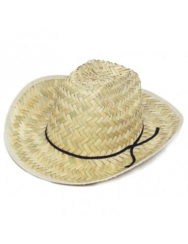 COWBOY HAT FOR MAN (STRAW)