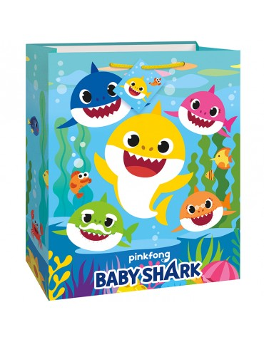 BABY SHARK GIFT BAG LARGE