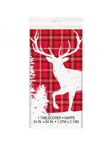 PLAID DEER CHRISTMAS...