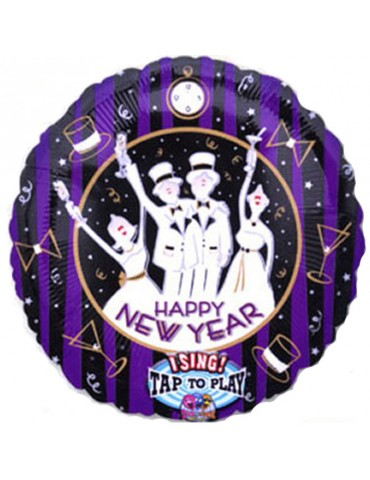 SINGING MYLAR - HAPPY NEW YEAR