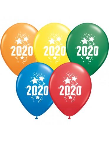BALLON 11'' 2020 ASSORTIE (50)