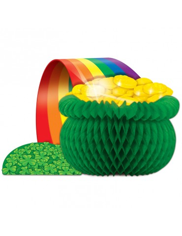 POT O' GOLD CENTERPIECE 12.5""
