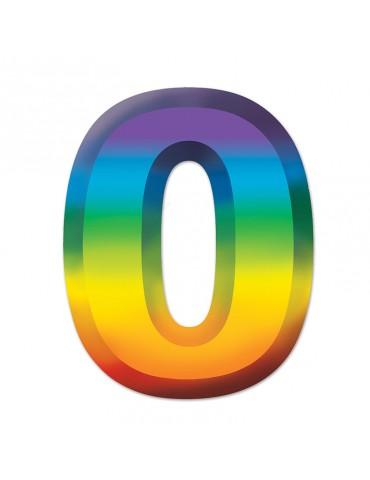 "11"" PLASTIC NUMBER NO.0"