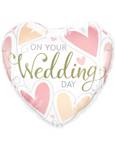 MYLAR 18'' ON YOUR WEDDING...