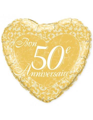 """18"""" MYLAR - BON 50E ANN...."""