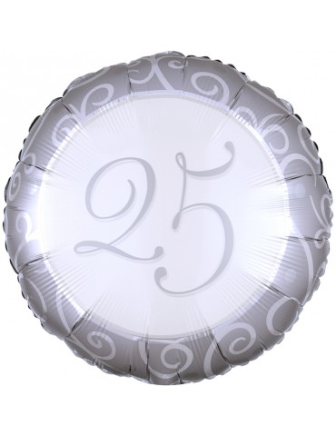 18'' MYLAR - 25TH ANNIVERSARY