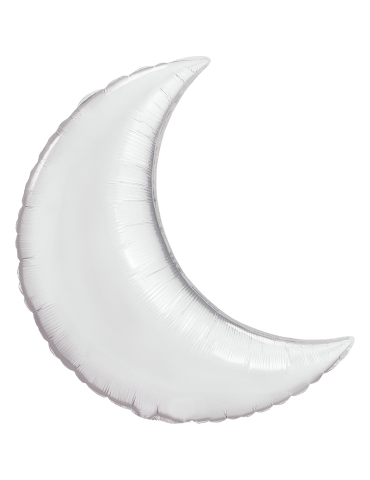 35'' MYLAR - CRESCENT MOON...