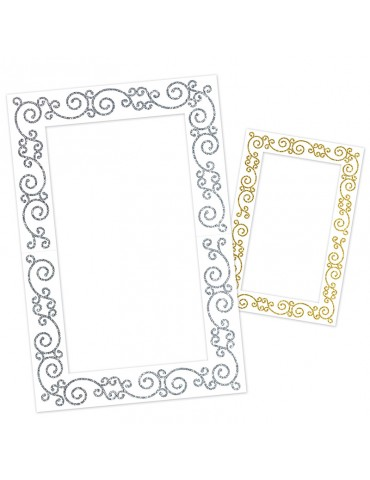 GLITTERED PHOTO FUN FRAME...