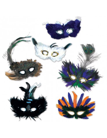 FANCI FEATHER ULTIMA MASK