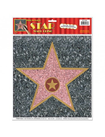 "12""X15"" STAR PEEL-N-PLACE"