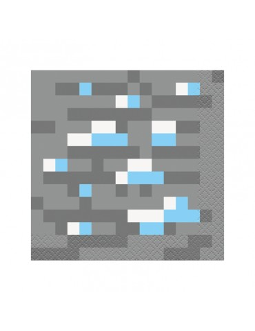 MINECRAFT BEVERAGE NAPKIN (16)
