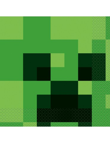 MINECRAFT LUNCHEON NAPKIN (16)
