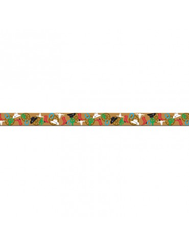 "3""X20' WESTERN PARTY BANNER"