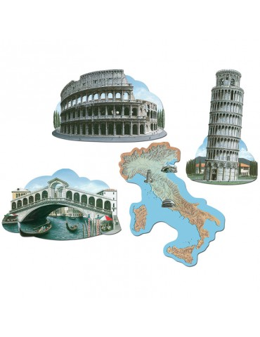 16'' CUTOUTS OF ITALY (4)