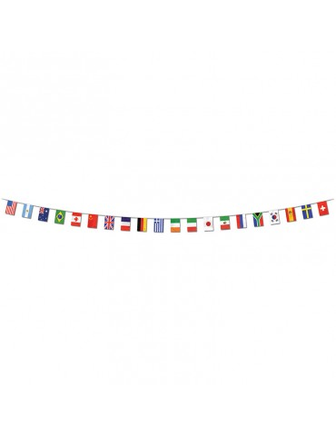 INTERNATIONAL FLAGS BANNER...