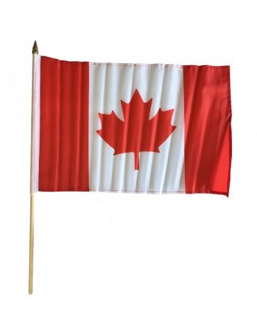 "DRAPEAU DU CANADA 12""X18"""