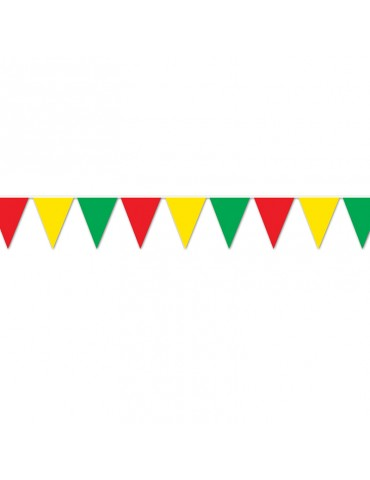 PENNANT 60' - RED-YELLOW-GREEN
