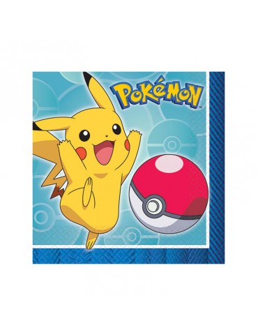 POKEMON BEVERAGE NAPKIN (16)