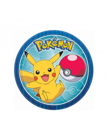 "POKEMON 7"" PLATE (8)"