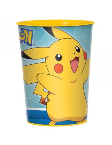 POKEMON PLASTIC CUP 16OZ
