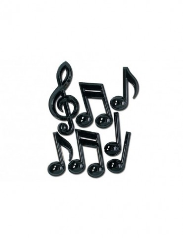 "13"" PLASTIC MUSIC NOTES (7)"
