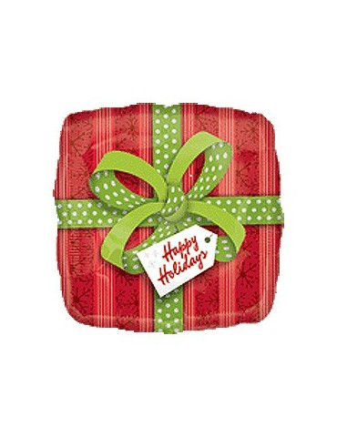18'' MYLAR - HAPPY HOLIDAYS...