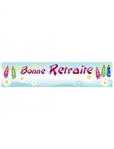 BONNE RETRAITE BANNER -...