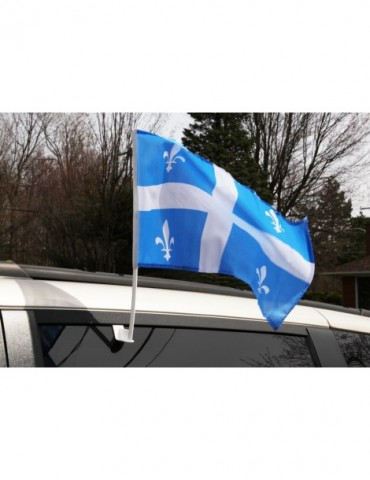 QUEBEC CAR FLAG
