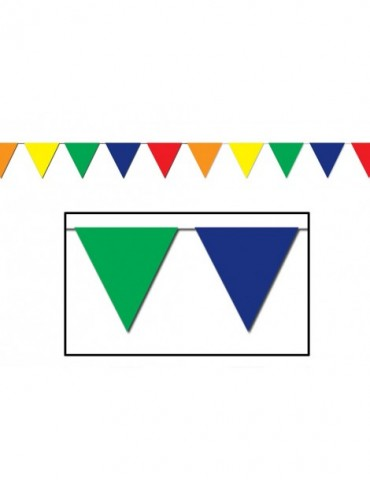 120' MULTICOLOR PENNANT