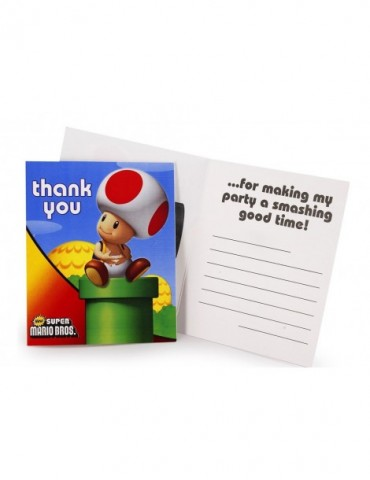 THANK YOU NOTE SUPER MARIO...